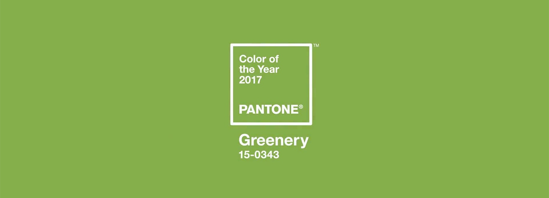 Pantone Color of the Year: Greenary