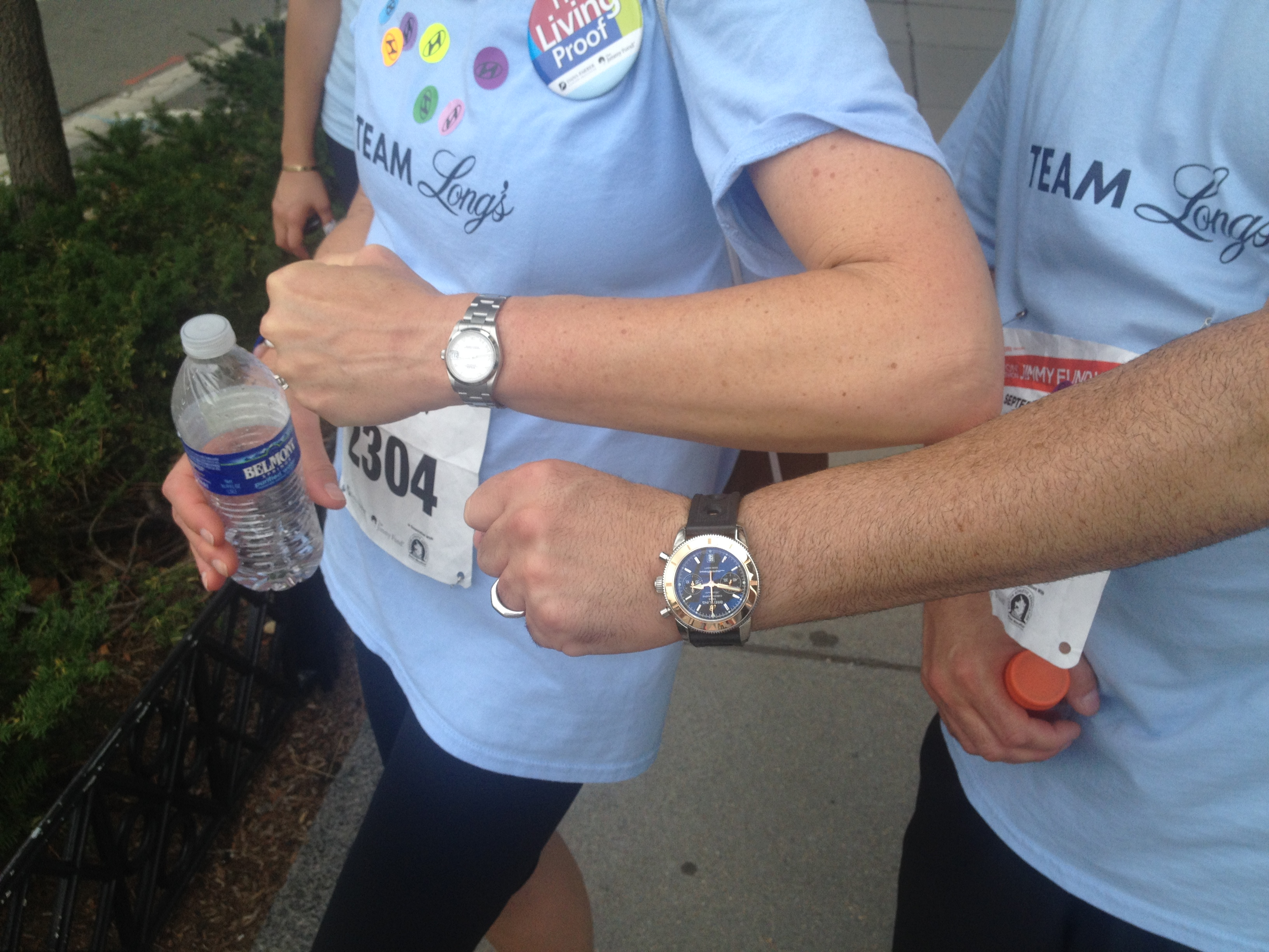 Can You Wear Luxury Watches During Marathons?