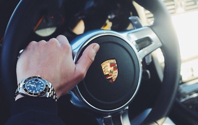 5 Perfectly Paired Rolex Watches & Porsches