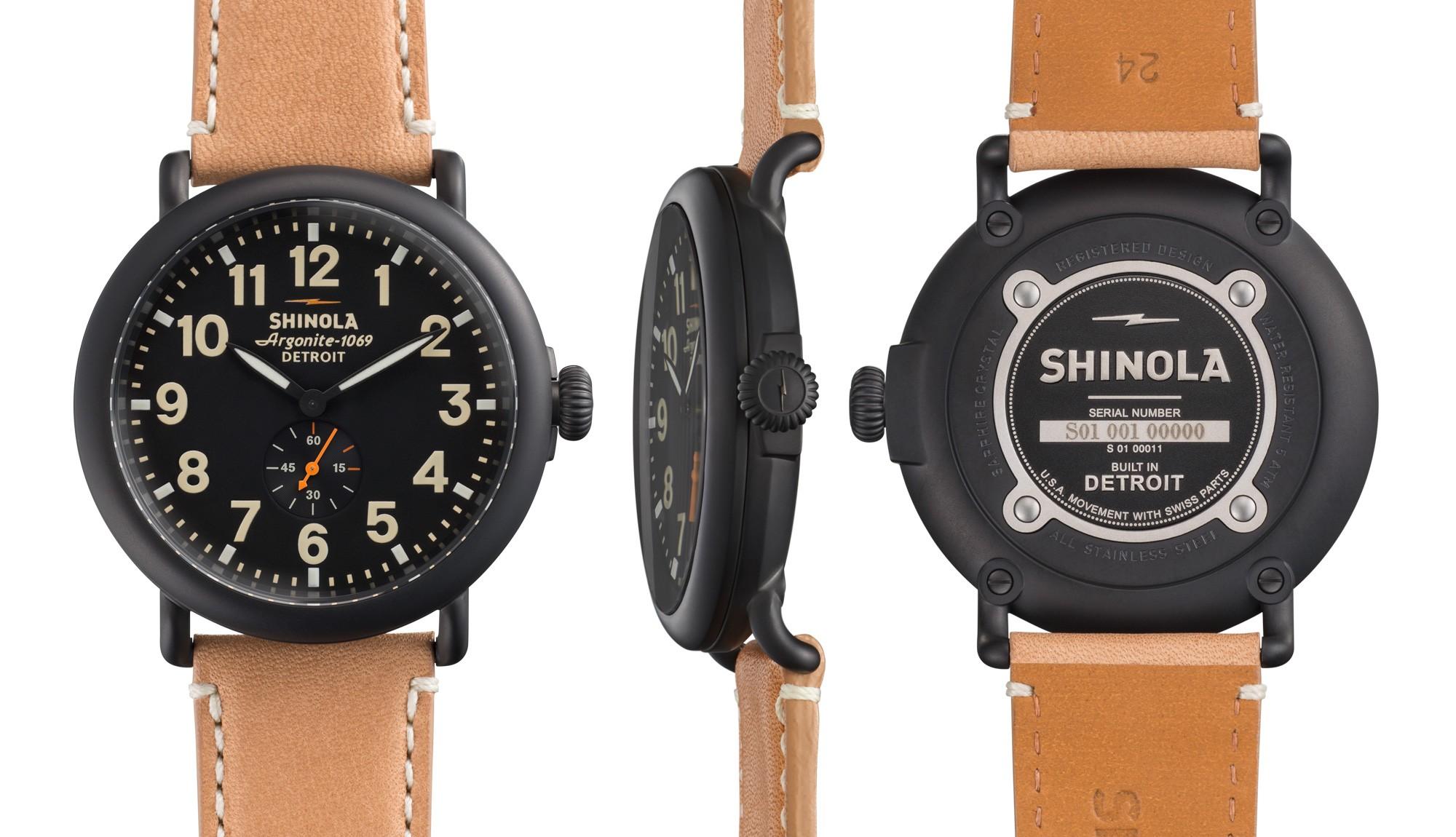 Father's Day Gifts Shinola Runwell Watch