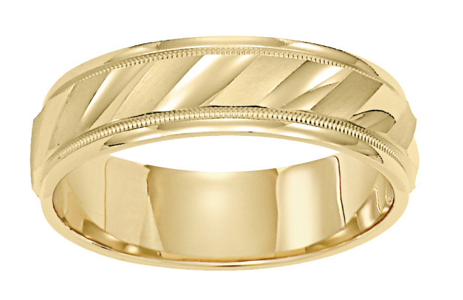 6 Unique Gold Wedding Bands For Men